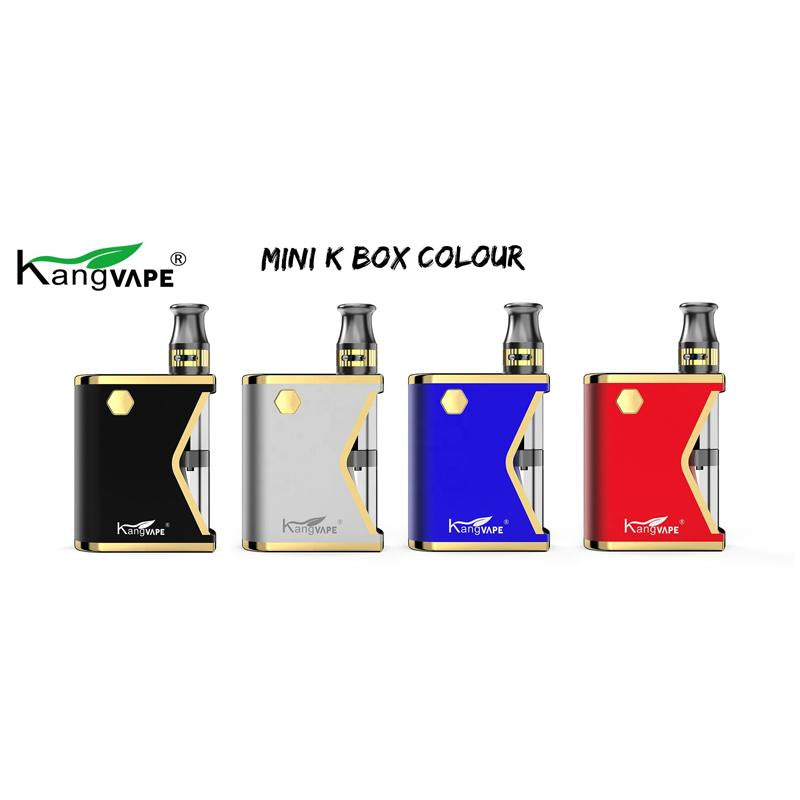 Kangvape Mini K VV Box Mod Kit 400mAh 0.5ml 4 Colors Optional
