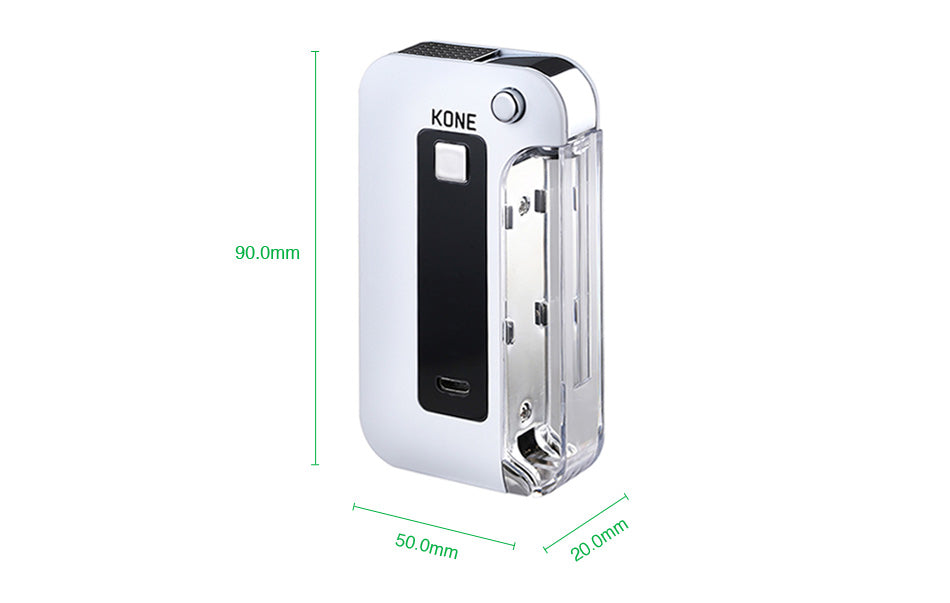 LTQ Vapor KONE 2-in-1 Battery 900mAh Size