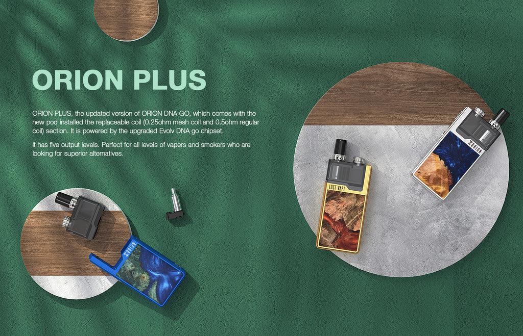 Lost Vape Orion Plus DNA GO Vape Pod System Starter Kit