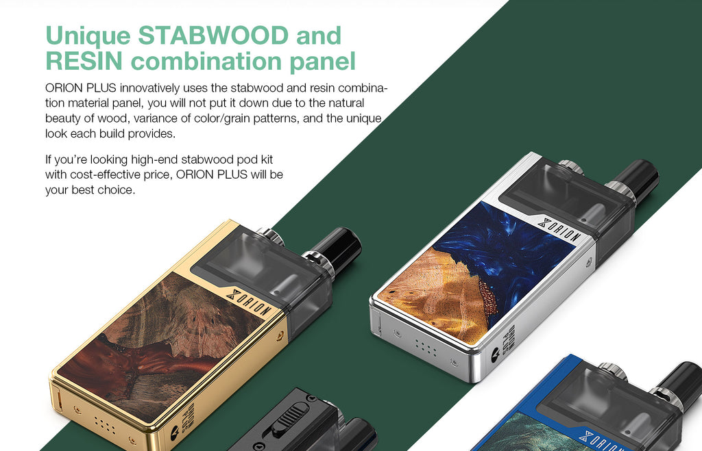 Unique Stabwood And Resin Combination Panel