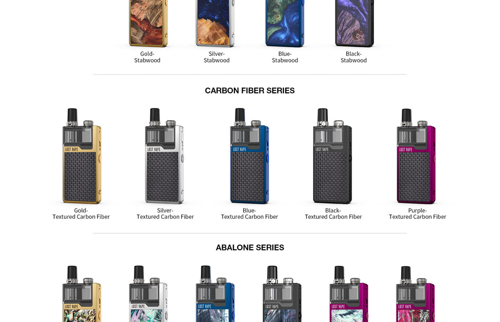 Lost Vape Orion Plus DNA GO Vape Pod System Starter Kit Colors Available