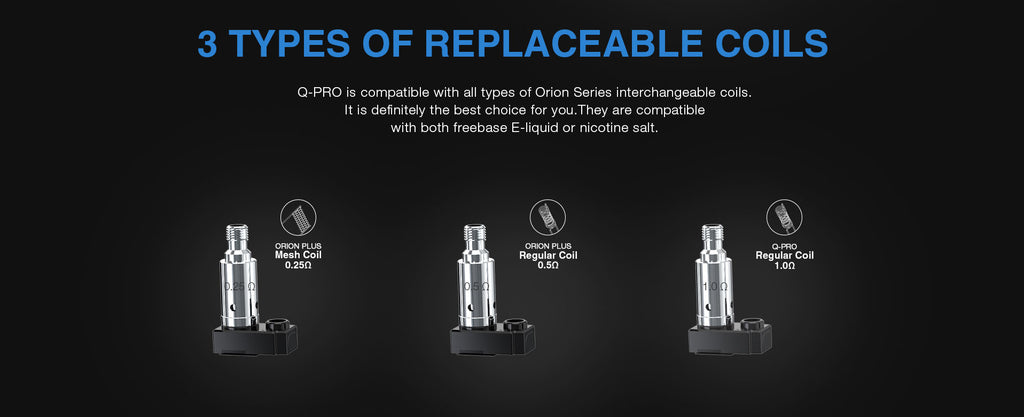 3 Types Of Replaceable Coils