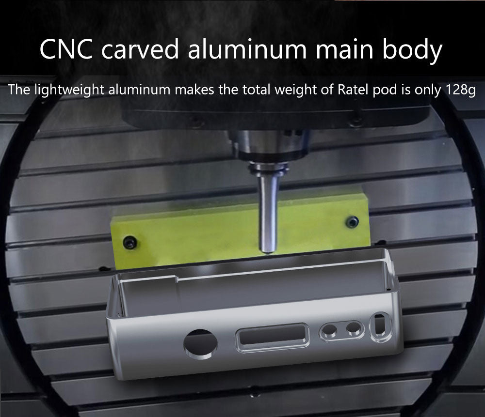 CNC Carved Aluminum Main Body