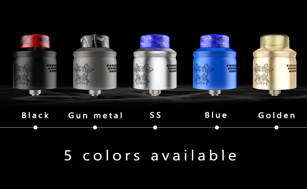 Mechlyfe x AmbitionZ VapeR Slatra Mesh BF RDA 5 Colors Available