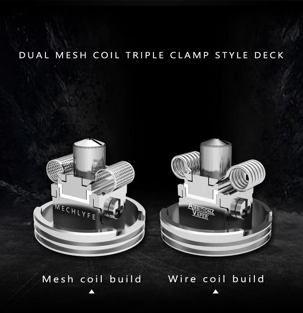 Mechlyfe x AmbitionZ VapeR Slatra Mesh BF RDA Coil Build