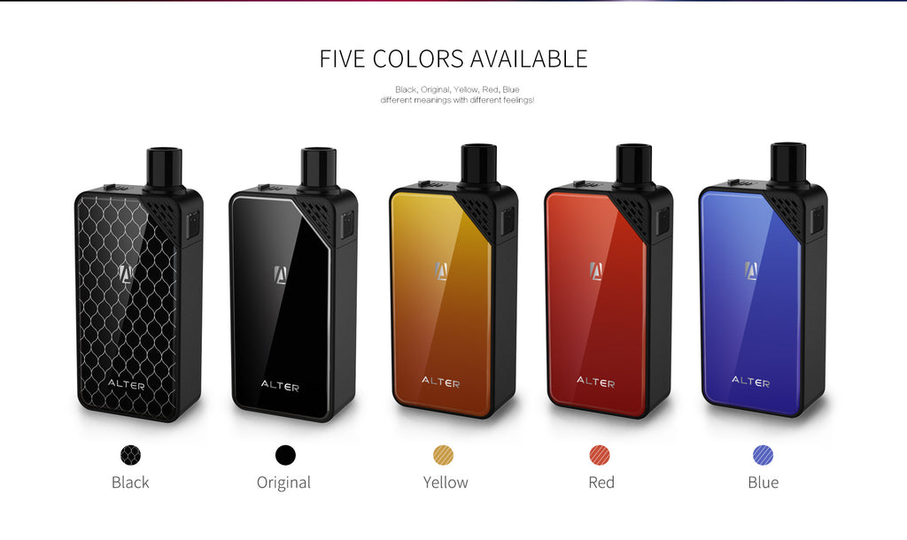 OBS Alter Vape Pod System 5 Colors Available