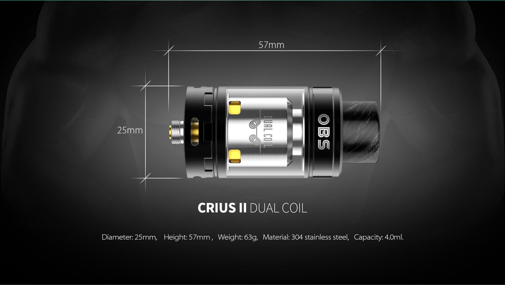 OBS Crius II RTA Daul Coil Version Parameter