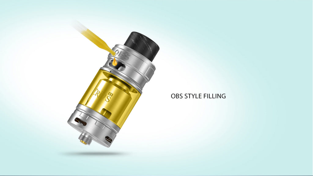 OBS Crius II RTA Daul Coil Version 4ml Filling
