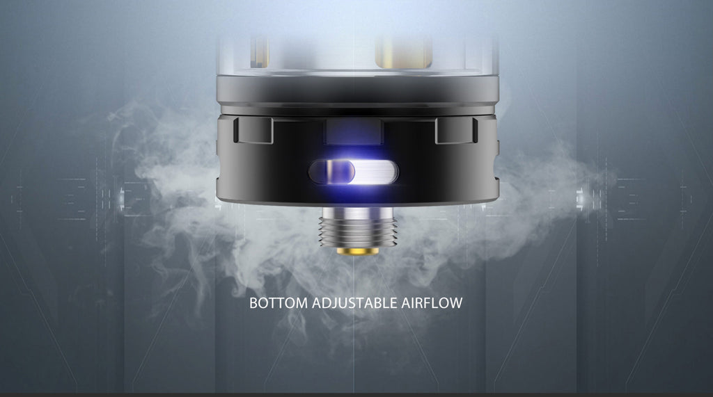 OBS Crius II RTA Daul Coil Version 4ml Airflow Adjustable