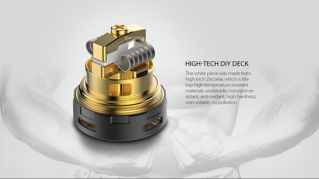 OBS Crius II RTA Daul Coil Version 4ml High-Tech DIY Deck