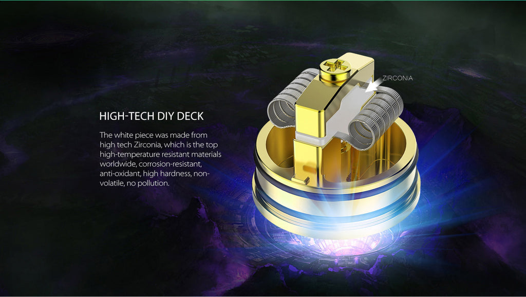 OBS Crius RDA High-Tech DIY Deck
