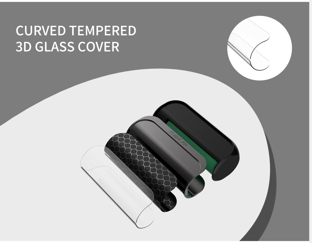 Curved Tempered 3D Glass Cover