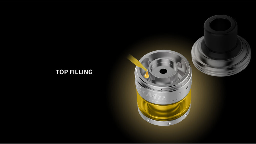 OBS Cube VW Engine MTL RTA Top Filling