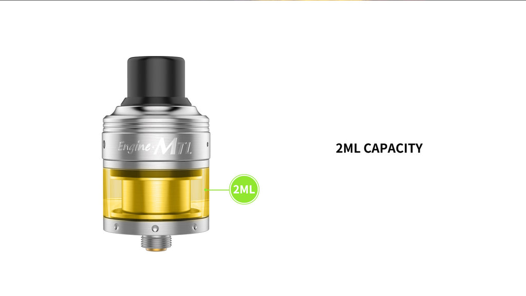 OBS Cube VW Engine MTL RTA 2ml Capacity
