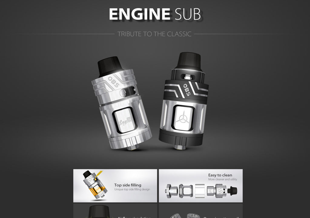 OBS Engine Sub Ohm Tank 5.3ml 0.2ohm