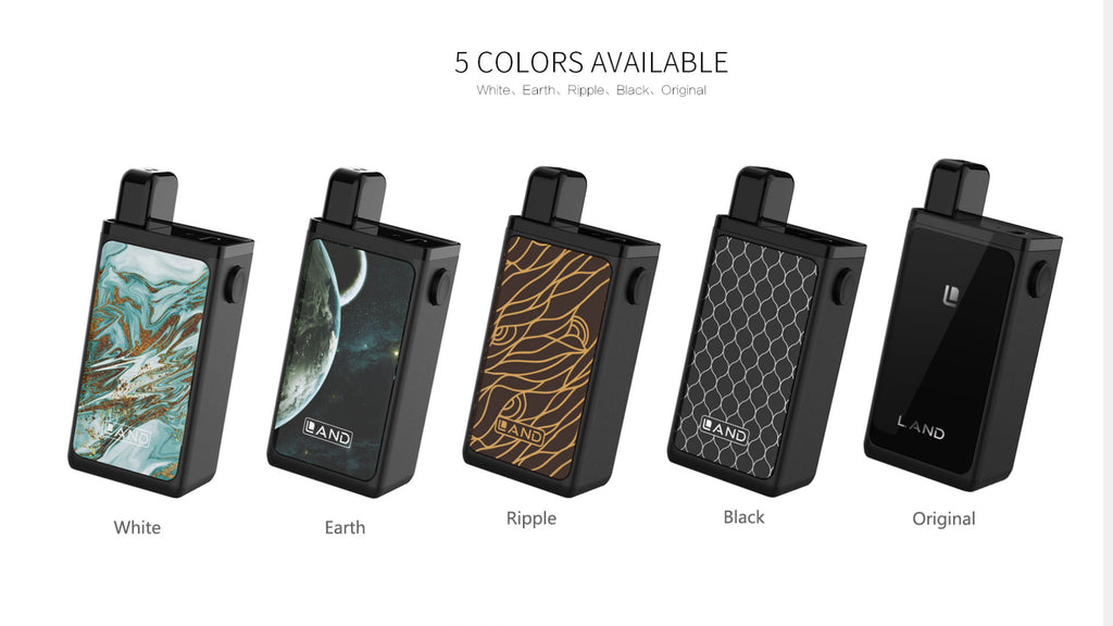 OBS Land Pod System Starter Kit 750mAh 1.5ml 5 Colors Available