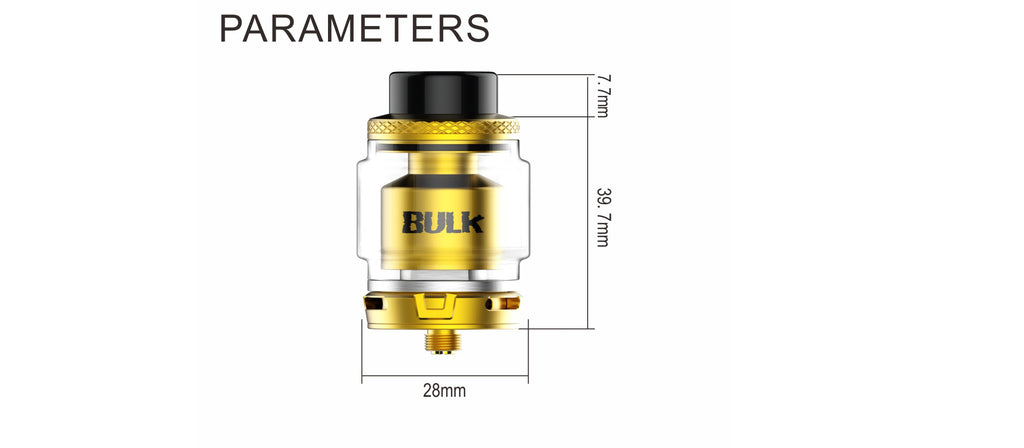 Oumier Bulk RTA Parameters