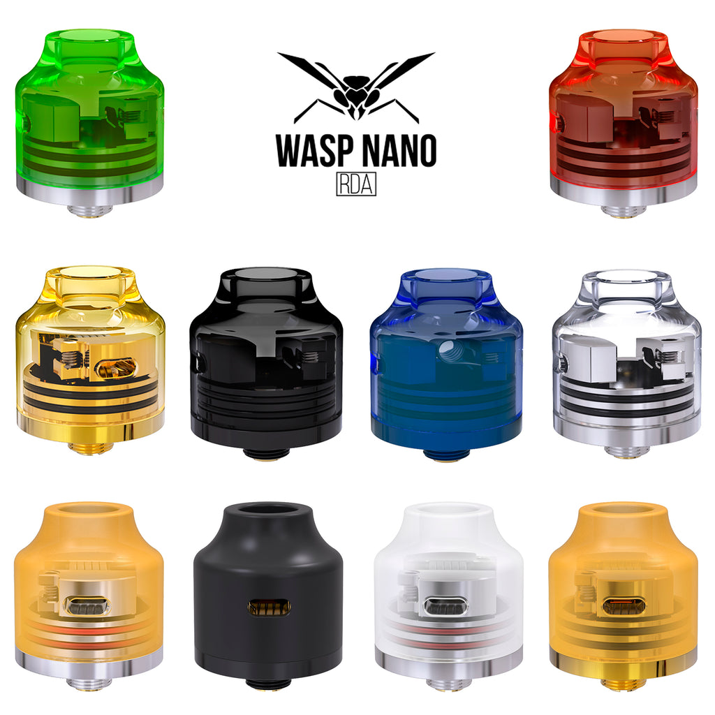 Oumier Wasp Nano RDA Colors Available