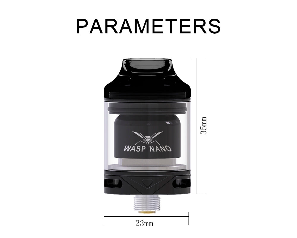 Oumier Wasp Nano RTA Parameters