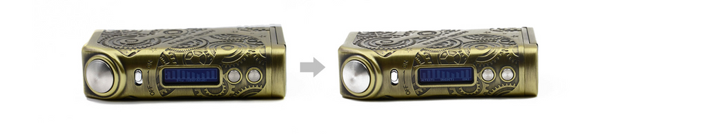 Teslacigs Nano 120W Steampunk TC Box Mod User Mode