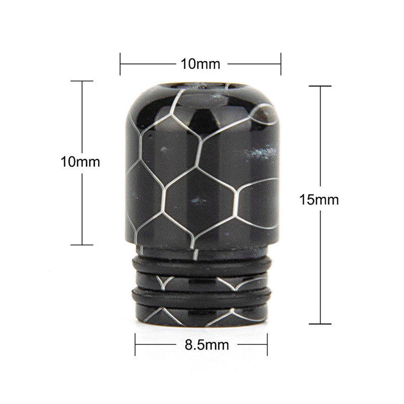 REEVAPE AS109SS Resin 510 Drip Tip Size