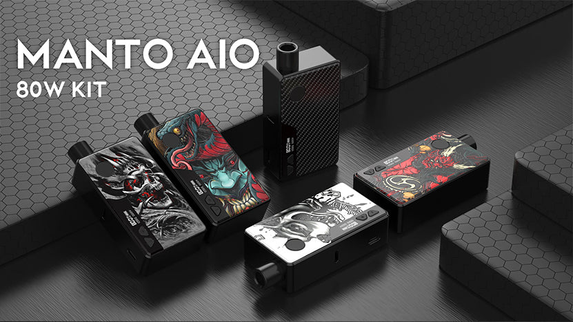 Rincoe Manto AIO Pod VW Starter Kit 80W 3ml