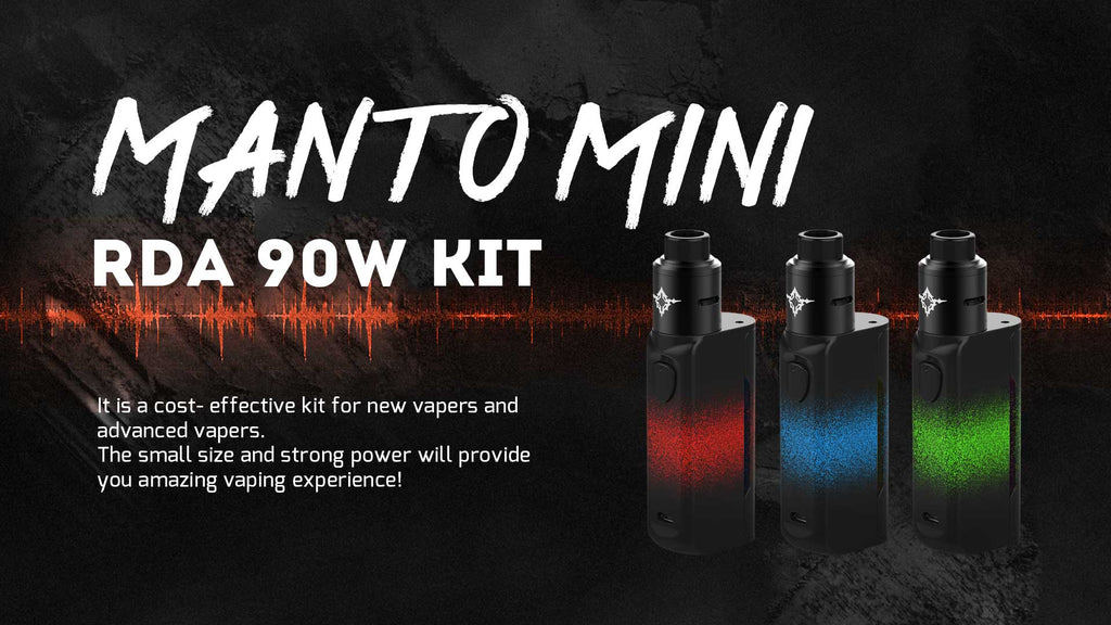 Rincoe Manto Mini VW RDA 90W Kit