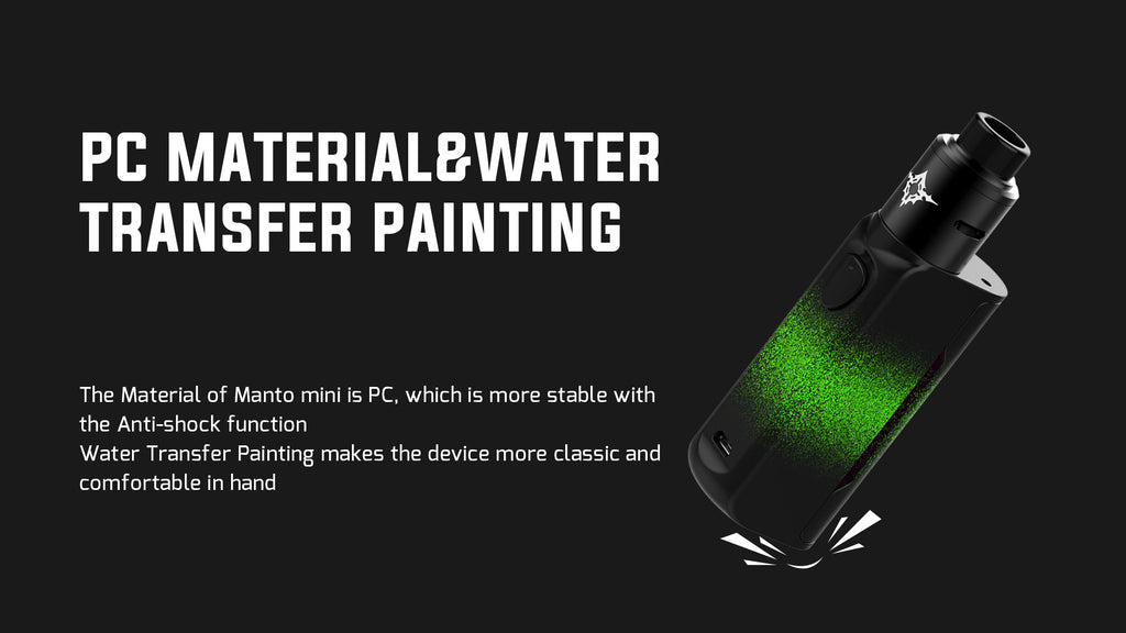 PC Material & Water Transfer Painting
