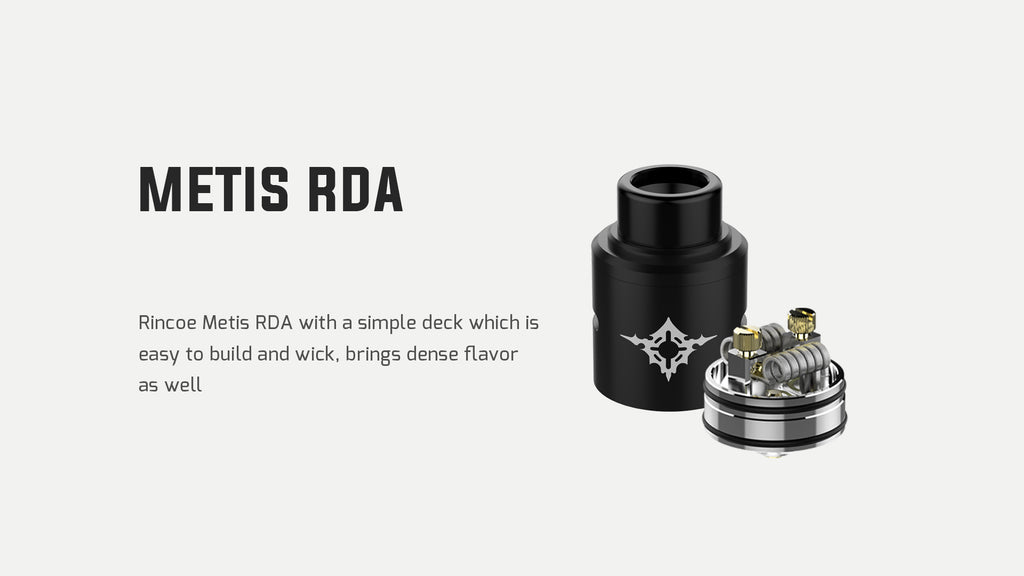 Rincoe Manto Mini VW Mod Kit Metis RDA