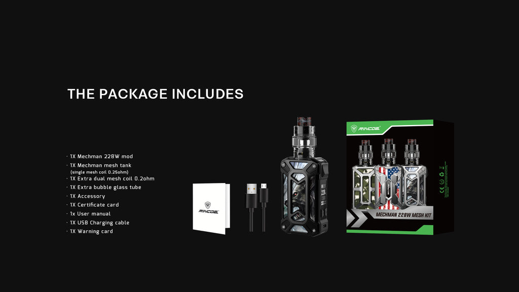 Rincoe Manto Mini VW Mod Kit Package Includes