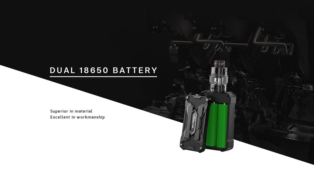 Rincoe Manto Mini VW Mod Kit Dual 18650 Batteries