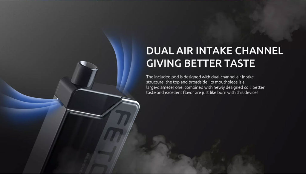 SMOK Fetch Mini Vape Pod System VW Starter Kit 1200mAh 3.7ml Standard Edition Airflow System