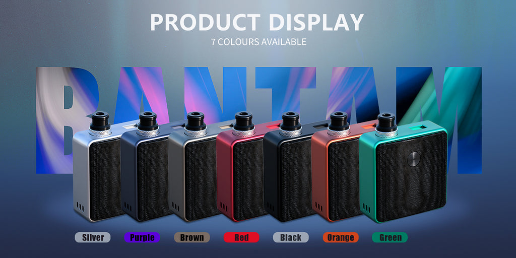 SXK Bantam Revision VW Box Mod Kit 30W 5ml 7 Colors Optional