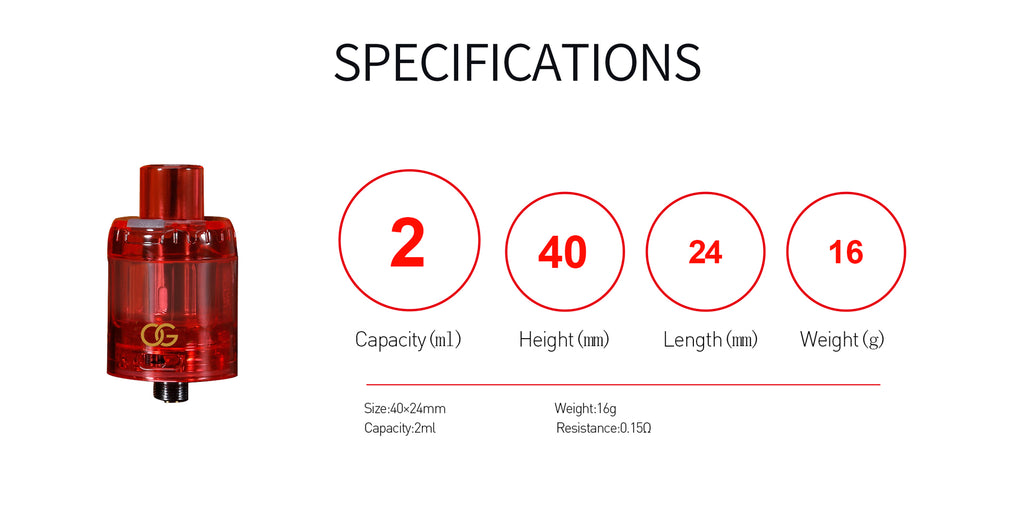 Sikary OG Mesh Tank Specifications