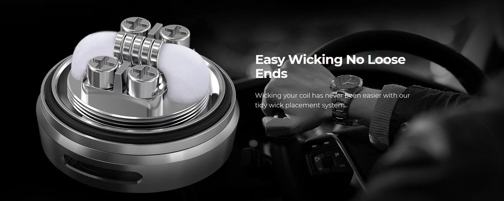 OFRF Gear RTA Easy Wicking No Loose Ends