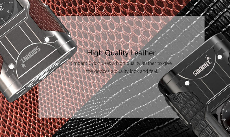Smoant Cylon TC Box Mod Hight Quality Leather