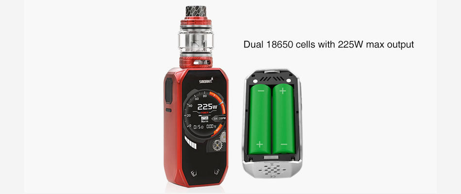 Smoant Naboo TC Mod Kit Dual 18650 Cells With 225W Max Output