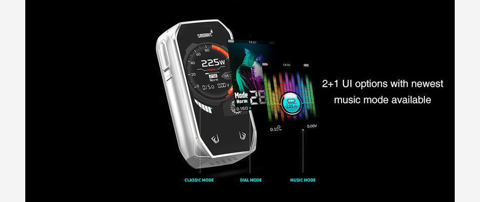 Smoant Naboo TC Mod Kit 2+1 UI Options With Newest Music Mode Available