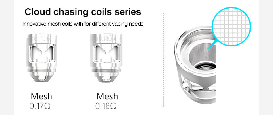 Smoant Naboo TC Mod Kit Cloud Chasing Copils Series