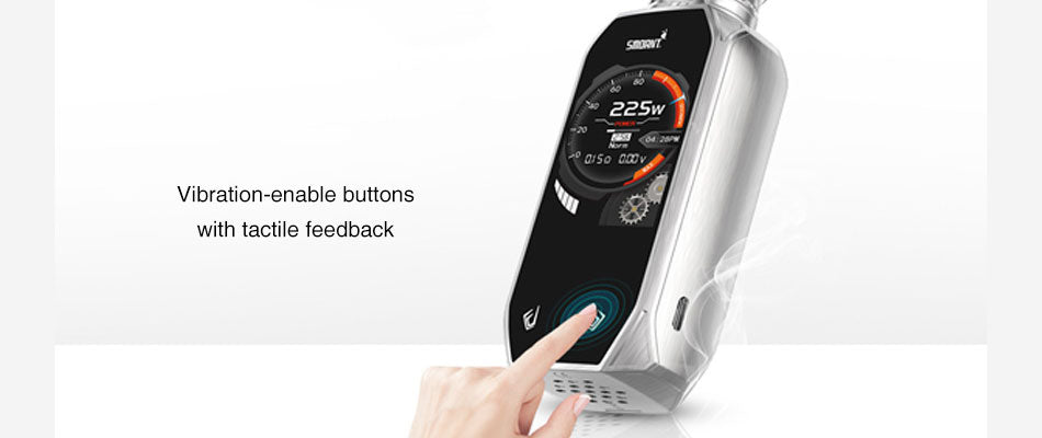 Vibration-enable Buttons With Tactile Feedback