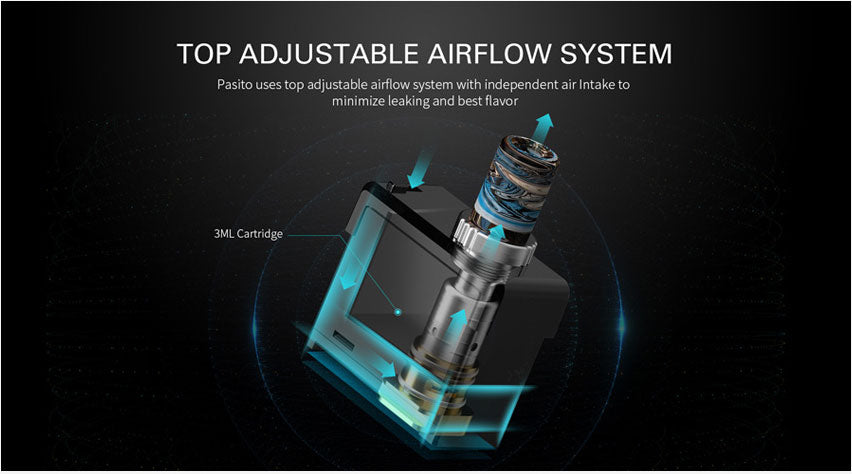 Smoant Pasito Replacement Pod Cartridge Airflow System