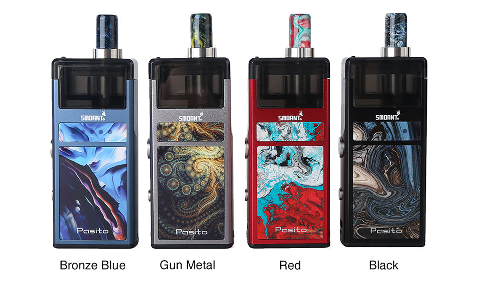 Smoant Pasito Vape Pod System 1100mAh 3ml 4 Colors Available