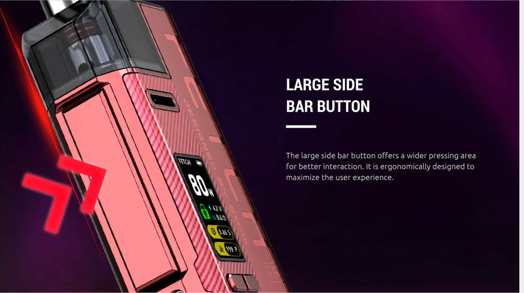 Large Side Bar Button