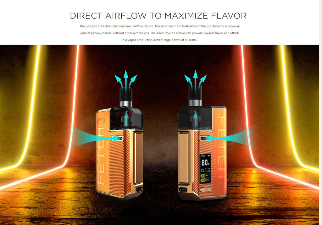 Direct Airflow To Maximize Flavor