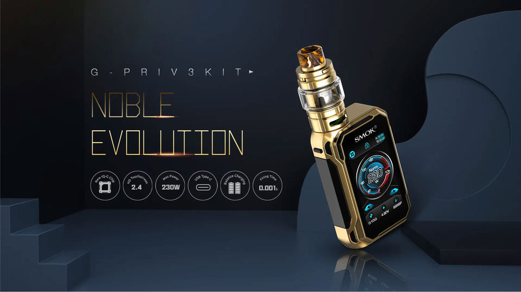 Smok G-PRIV 3 TC Mod Kit with TFV16 Lite Tank 230W 5ml