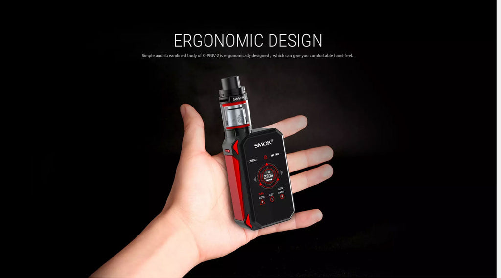 Smok G-Priv 2 TC Mod Kit with TFV8 X-Baby Tank Touch Screen 230W 4ml Design