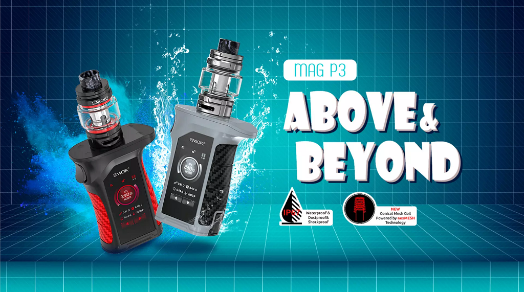 Smok MAG P3 TC Mod Kit with TFV16 Tank 230W 9ml Standard Edition