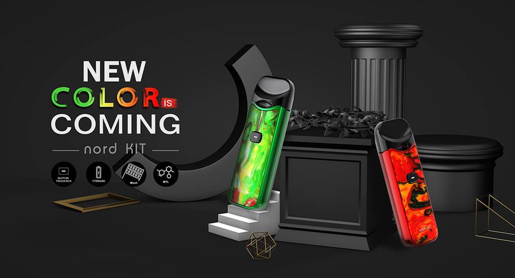 Smok Nord Vape Pod System New Color Coming