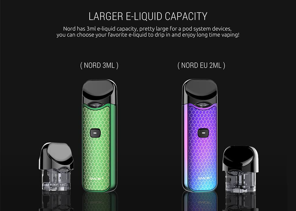 Larger Capacity Smok Nord Vape Pod Cartridge