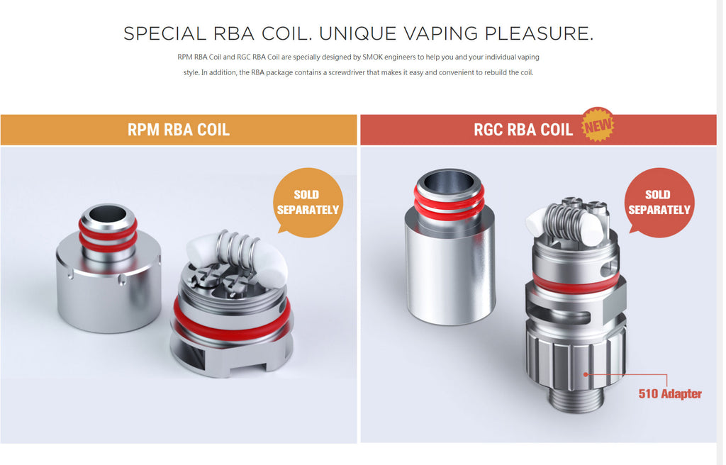 Special RBA Coil Unique Vaping Pleasure
